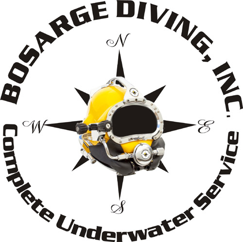 Bosarge Diving Retina Logo